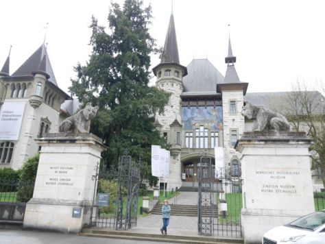Historisches Museum Bern mit Kind