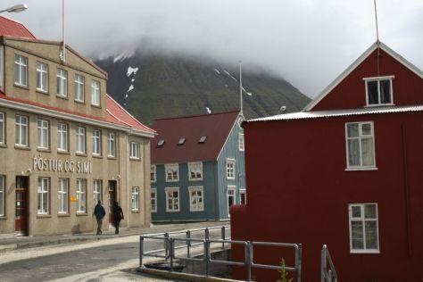 Isafjördur, Island, Innenstadt, Post