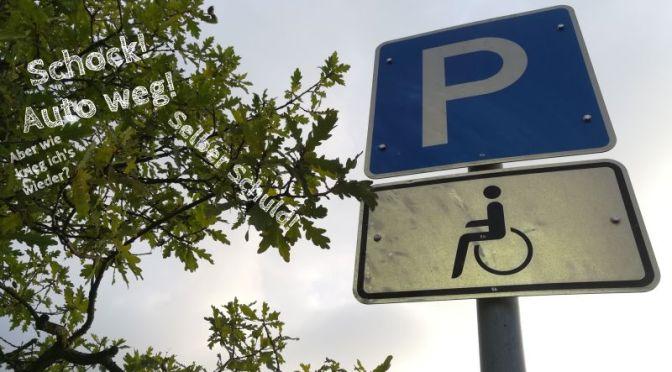 Auto abgeschleppt: Was tun (und wie hinterher darüber ärgern)?