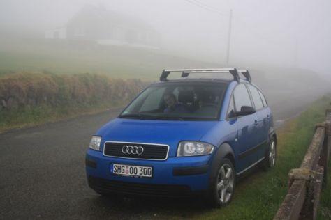 Irland Roadtrip mit Kindern Audi A2