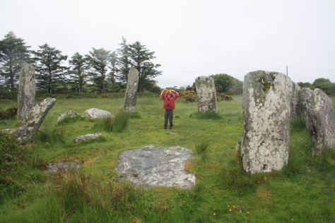 Roadtrip nach Irland mit Kindern, Beara, Steinkreis