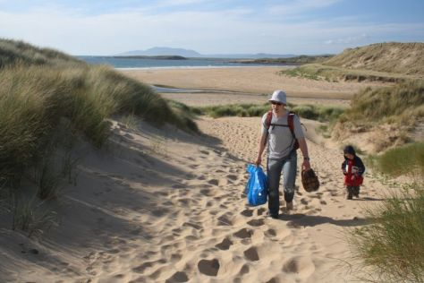 Roadtrip nach Irland mit Kindern, Sligo, Strand