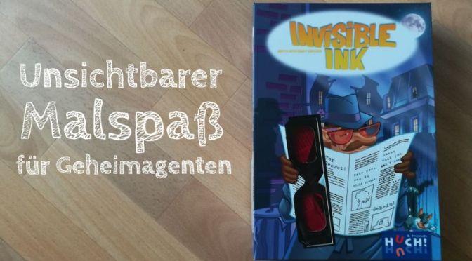 """Werbung: Kreative Agententätigkeit mit dem Spiel """"Invisible Ink"""""""