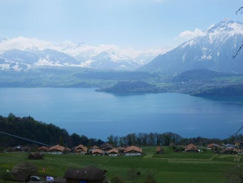 Sigriswil, Schweiz, Thuner See