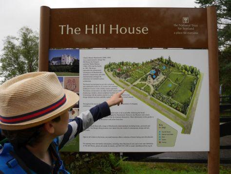 Hill House Helensburgh mit Kindern