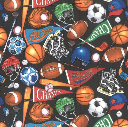 All Star Sports Fabric