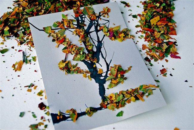 Leaf-Collage