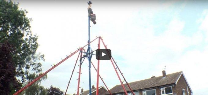 360 degree garden swing