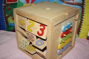 FC Bead Maze Cube 4