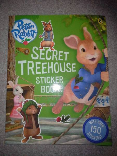 Peter Rabbit Secret Treehouse Sticker Book Review