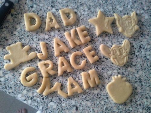 Family Clan Blog Silent Sunday Jake Baking