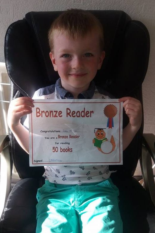 Jake 50 Reading Book Award Family Clan Blog