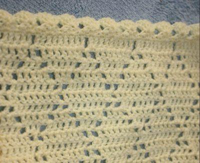 crochet diamond baby blanket afghan Family Clan