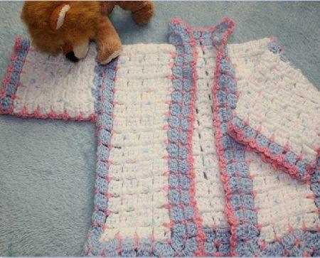 Crochet Wool Cardigans Pattern Family Clan