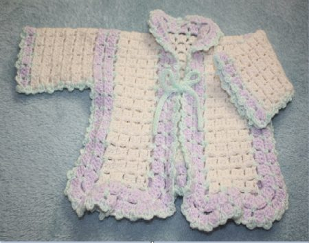 Wool Crochet Cardigans Pattern Family Clan