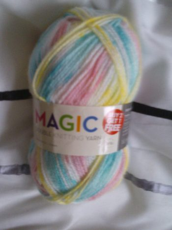 Grand daughter Magic Yarn Wool PoundWorld