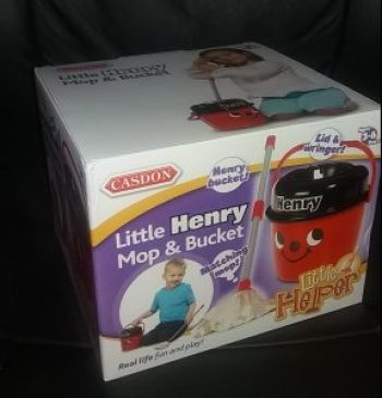 Casdon Little Henry Mop and Bucket