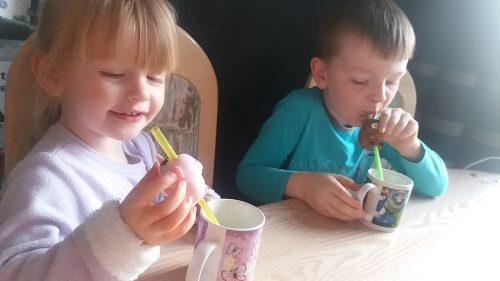 Sip 'n Sound Farmyard Animal straws Family Clan