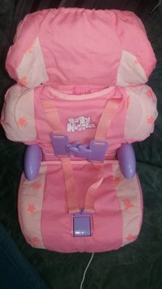 Casdon Baby Huggles Car Booster Seat Family Clan