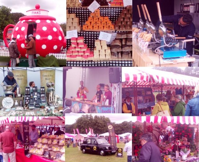 Foodies Festival Montage Tatton Park Cheshire Family Clan