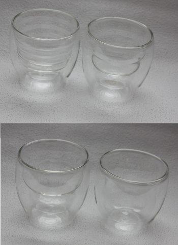 Ozeri Hand Made Glasses Salt Pepper Grinder Grinders Family Clan