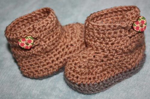 Ugg Inspired Crochet Boots for 3-6 Months Family Clan