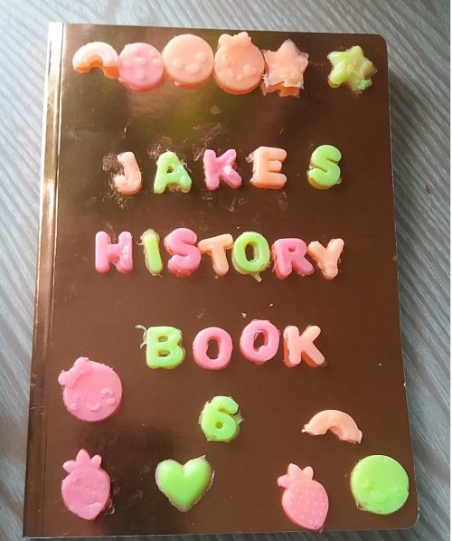 Gel a Peel Back to School Making Jakes History Book Family Clan