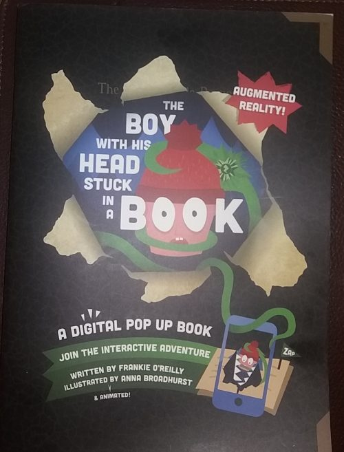 The Boy With His Head Stuck In A Book Zappa book review Family Clan