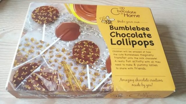 Bumblebee Chocolate Lollipops review by Family Clan
