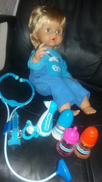 Cicciobello Love n Care Doll by Family Clan