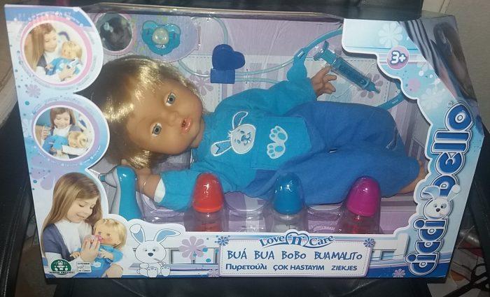 Cicciobello Love n Care Doll Review Family Clan