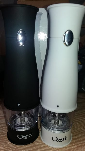 Ozeri electric salt and pepper grinder review Kitchen Scales by family clan