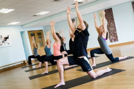 Ragdale Hall fitness pilates class