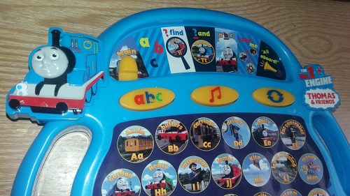 Learn with Thomas & Friends Alphaphonics Learning Aid Review by Family Clan