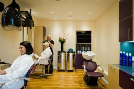 Ragdale Hall hair salon