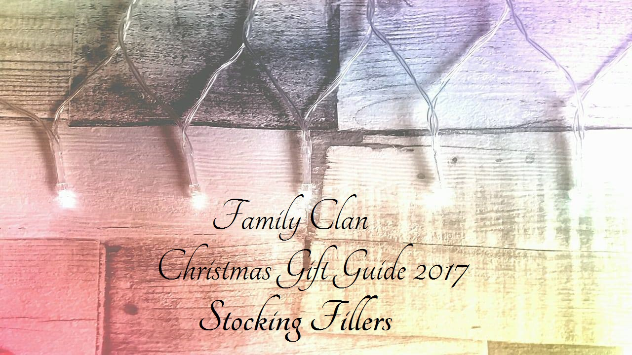 Family Clan Christmas Gift Guide Stocking Fillers