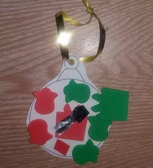Grace Christmas Ornament Sunday Snap 3rd December 2017