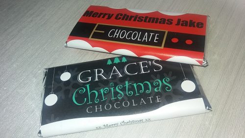 Personalised Chocolate Bars by Giftpup.com Family Clan