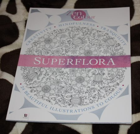 Adult Colouring Book Superflora Family Clan Blog