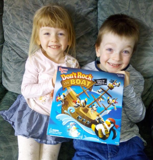 Don't Rock The Boat University Games Board Game Review by Family Clan