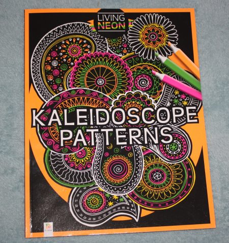 Kaleidoscope Patterns Adult Colouring Giveaway Family Clan