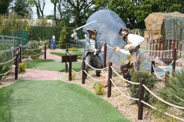 Jurassic Cove Mini Golf Crazy Golf Bents Garden Centre Leigh Family Clan