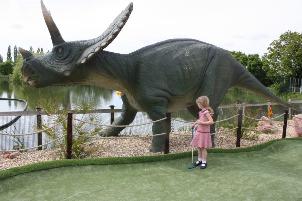 Jurassic Cove Mini Golf Crazy Golf Bents Garden Centre Leigh Family Clan