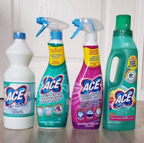 ACE cleaning products review by Family Clan