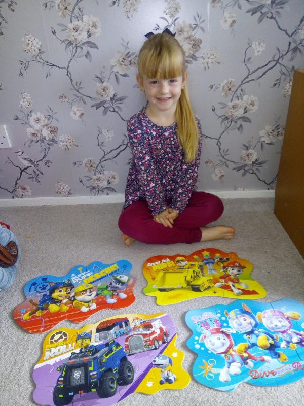 Paw Patrol Puzzle Fun with Ravensburger Family Clan
