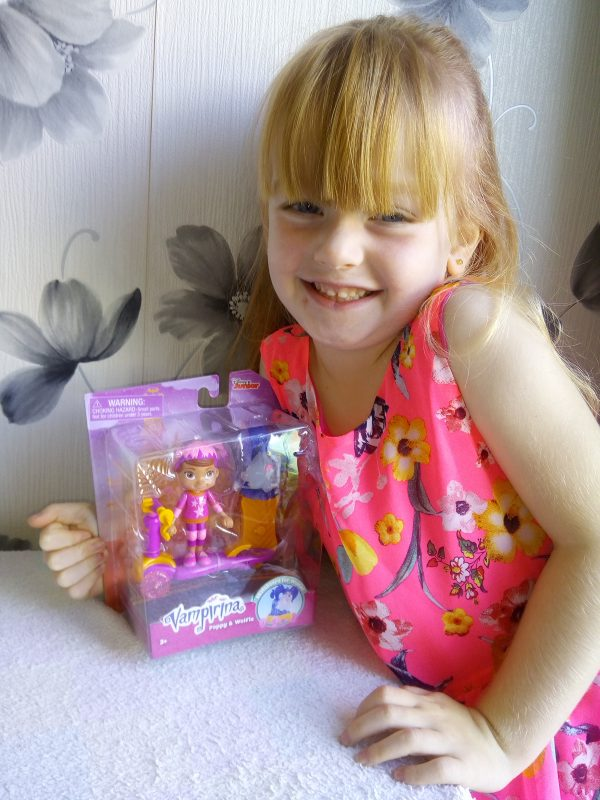 Fangtastic Fun with Disney Vampirina Review Family Clan
