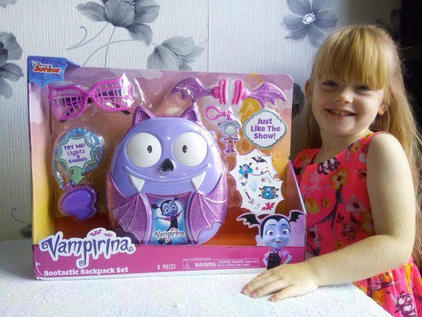 Fangtastic Fun with Disney Vampirina Review Family Clan