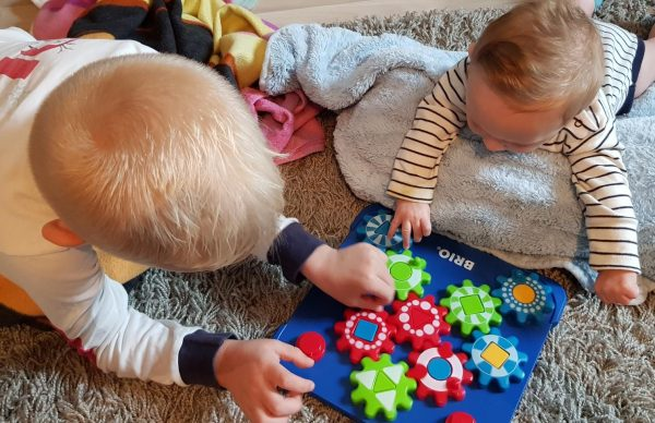 BRIO Cogwheel puzzle review by Family Clan