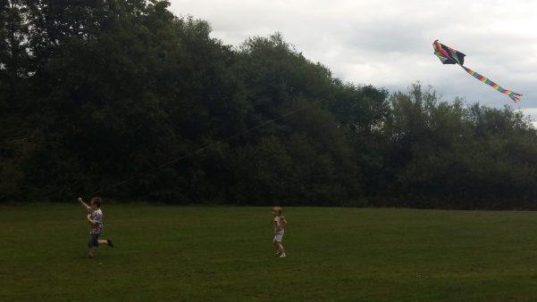 kite flying Sunday Snap Family Clan