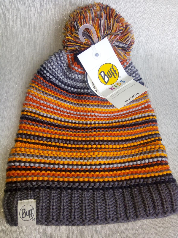 Buff Kids Bobble hat review by Family Clan